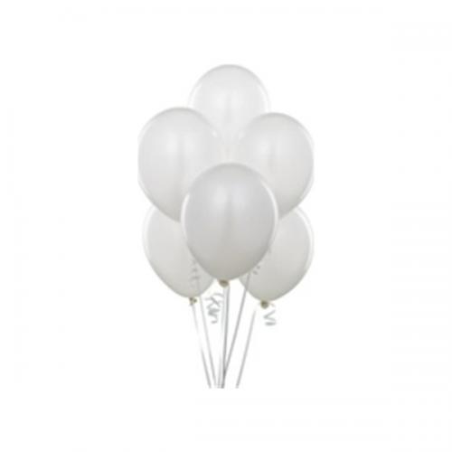 Balonevi Balon Baskısız Beyaz 100 LÜ