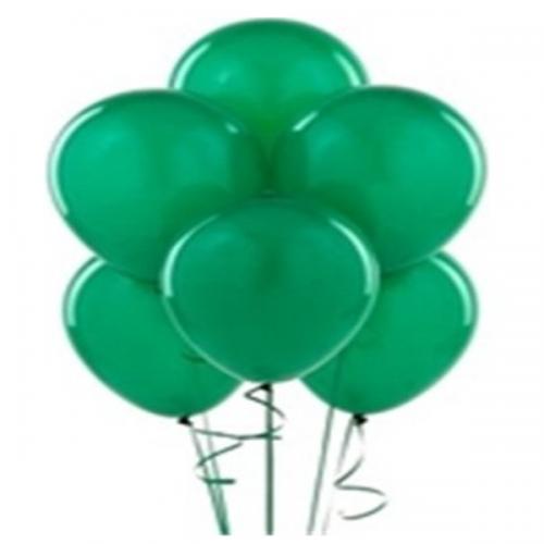Balonevi Balon Baskısız Yeşil 100 LÜ