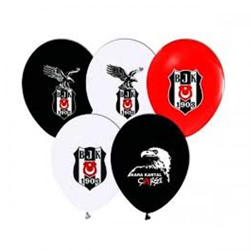 Balonevi Balon Beşiktaş Lisanslı Baskılı 12 Lİ 7034
