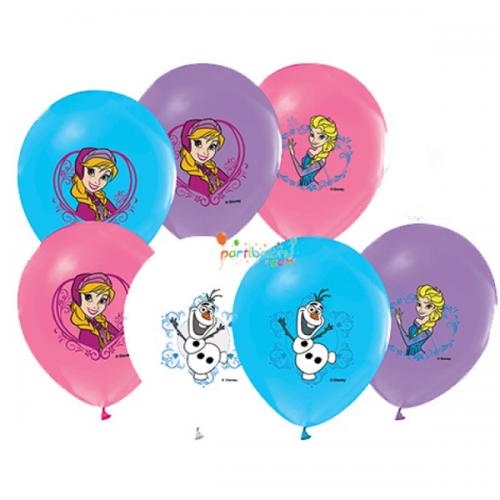 Balonevi Balon Disney Frozen Ve Cars Baskılı