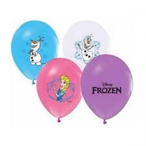 Balonevi Balon Frozen Baskılı Pastel 4+1 100 LÜ 9794