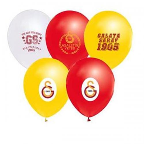 Balonevi Balon Galatasaray Baskılı 4+1 12 Lİ 7164