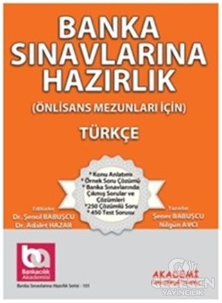Banka Sınavlarına Hazırlık - Türkçe