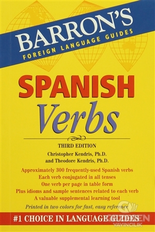 Barron's Foreign Language Guides: Spanish Verbs 3rd