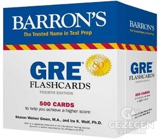 Barron's GRE Flashcards