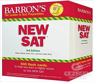 Barron's New SAT Flash Cards
