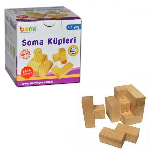 Bemi Eğitici Oyun Soma Küpleri 1420