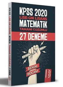 2021 KPSS Lise Ön Lisans Matematik Tamamı Çözümlü 27 Deneme