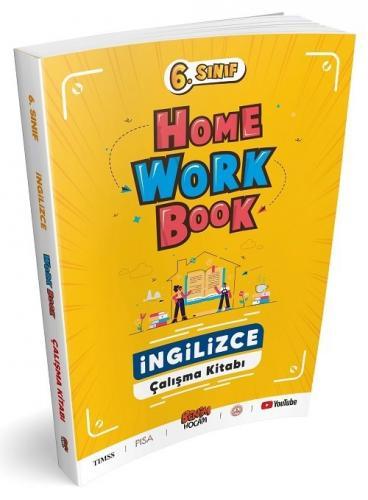 Benim Hocam 6. Sınıf İngilizce Home Work Book Çalışma Kitabı Benim Hocam Yayınları