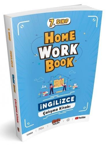 Benim Hocam 7. Sınıf İngilizce Home Work Book Çalışma Kitabı Benim Hocam Yayınları