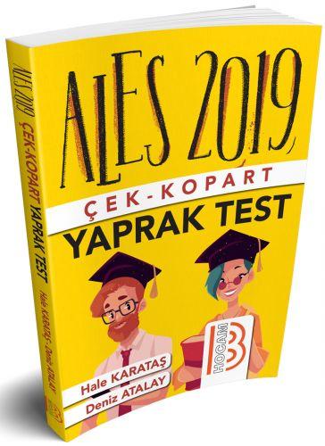 2019 ALES Çek Kopart Yaprak Test | Benim Hocam Yayınları