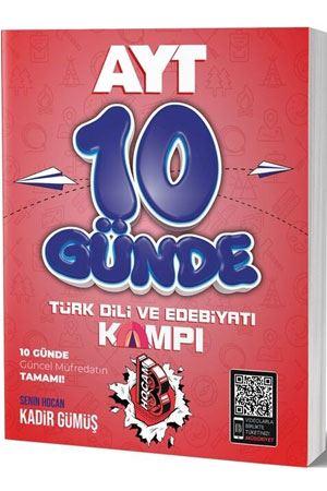 Benim Hocam 2020 YKS TYT 10 Günde Türk Dili ve Edebiyatı Kampı Kadir Gümüş Benim Hocam Yayınları