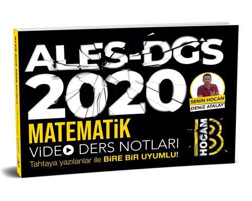 2020 Ales DGS Matematik Video Ders Notları | Benim Hocam Yayınları