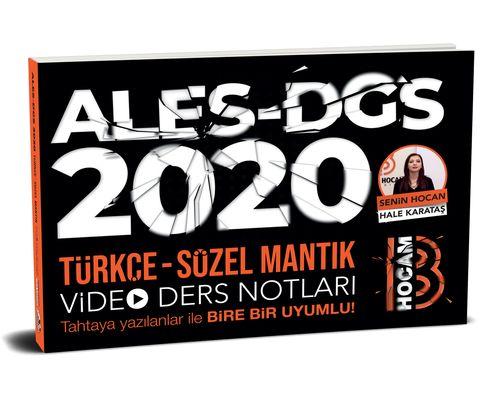 2020 Ales DGS Türkçe - Sözel Mantık Video Ders Notları | Benim Hocam Yayınları