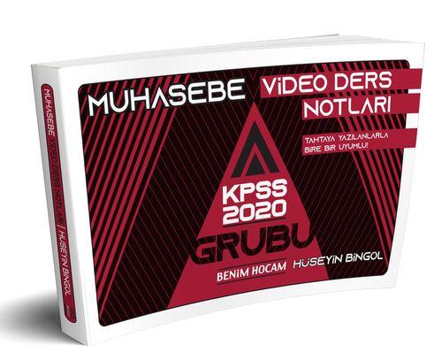 2021 KPSS A Grubu Muhasebe Video Ders Notları Hüseyin Bingöl | Benim Hocam Yayınları