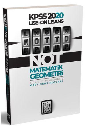 2020 Lise Önlisans KPSS MOTTO Matematik Geometri Ders Notları