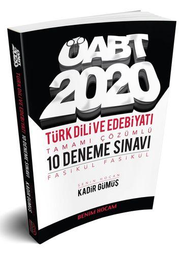 Benim Hocam 2020 ÖABT Türk Dili ve Edebiyatı 10 Deneme Çözümlü Kadir Gümüş Benim Hocam Yayınları