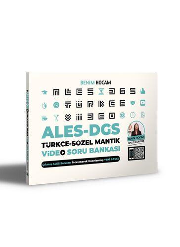 Benim Hocam Yayınları 2021 ALES DGS Türkçe-Sözel Mantık Video Soru Bankası