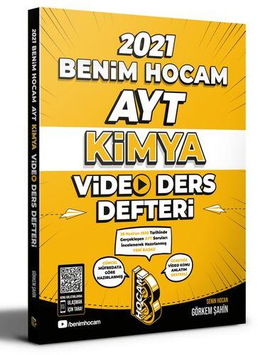 Benim Hocam 2021 YKS AYT Kimya Video Ders Defteri - Görkem Şahin Benim Hocam Yayınları