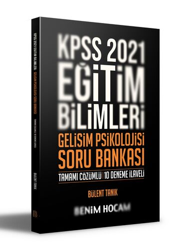 2021 KPSS Eğitim Bilimleri Gelişim Psikolojisi Tamamı Çözümlü 10 Deneme İlaveli Soru Bankası