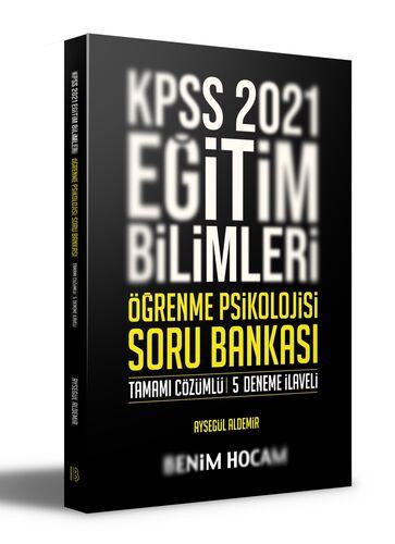 Benim Hocam Yayınları 2021 KPSS Eğitim Bilimleri Öğrenme Psikolojisi Tamamı Çözümlü 5 Deneme İlaveli Soru Bankası