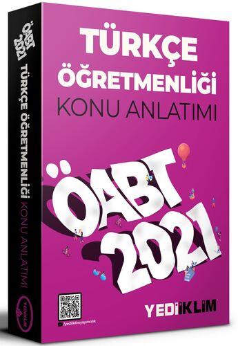 Yediiklim Yayınları 2021 ÖABT Türkçe Öğretmenliği Konu Anlatımı