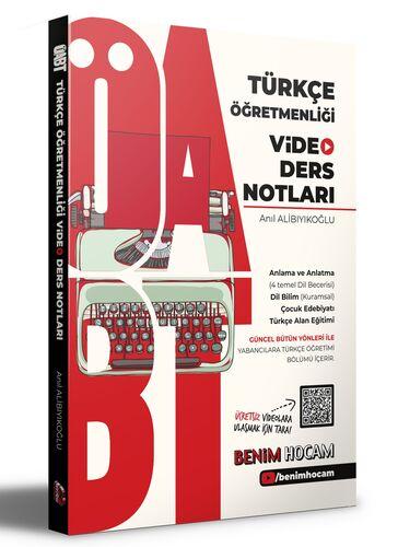 2021 ÖABT Türkçe Öğretmenliği Video Ders Notları Benim Hocam Yayınları