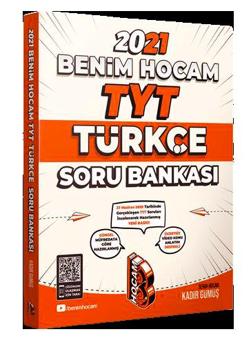 Benim Hocam 2021 YKS TYT Türkçe Soru Bankası - Kadir Gümüş Benim Hocam Yayınları