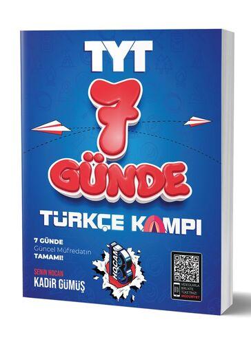 7 Günde TYT Türkçe Kamp Defteri