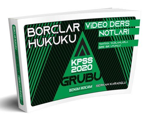 2020 KPSS A Grubu Borçlar Hukuku Video Ders Notları Serkan Karaoğlu
