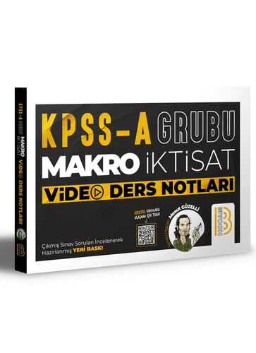 Benim Hocam Yayınları Kpss A Makro İktisat Video Ders Notları