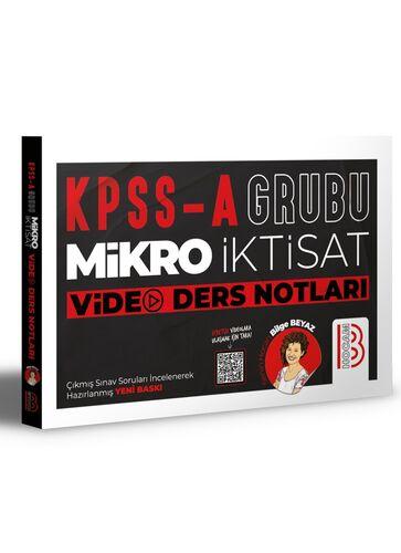 Benim Hocam Yayınları Kpss A Mikro İktisat Video Ders Notları