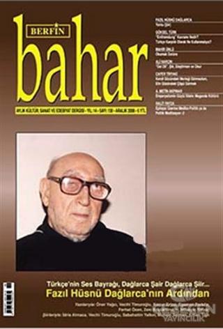 Berfin Bahar Aylık Kültür, Sanat ve Edebiyat Dergisi Sayı : 130