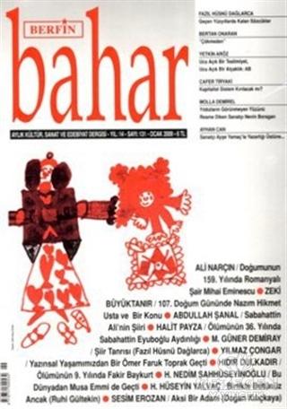 Berfin Bahar Aylık Kültür, Sanat Ve Edebiyat Dergisi Sayı : 131