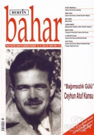 Berfin Bahar Aylık Kültür, Sanat ve Edebiyat Dergisi Sayı : 133