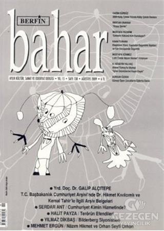 Berfin Bahar Aylık Kültür, Sanat ve Edebiyat Dergisi Sayı : 138