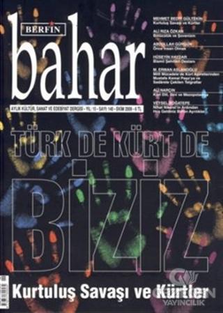 Berfin Bahar Aylık Kültür, Sanat ve Edebiyat Dergisi Sayı : 140