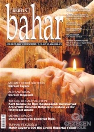 Berfin Bahar Aylık Kültür, Sanat ve Edebiyat Dergisi Sayı : 142