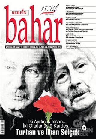 Berfin Bahar Aylık Kültür, Sanat Ve Edebiyat Dergisi Sayı : 149
