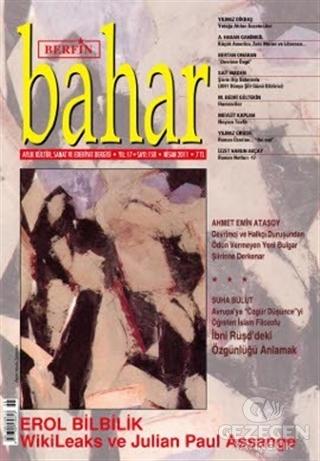 Berfin Bahar Aylık Kültür, Sanat ve Edebiyat Dergisi Sayı : 158