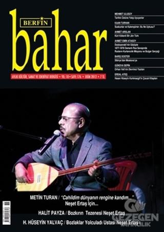 Berfin Bahar Aylık Kültür, Sanat Ve Edebiyat Dergisi Sayı : 176