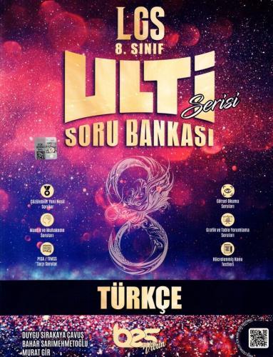 Bes Yayınları 8. Sınıf LGS Türkçe Ulti Serisi Soru Bankası