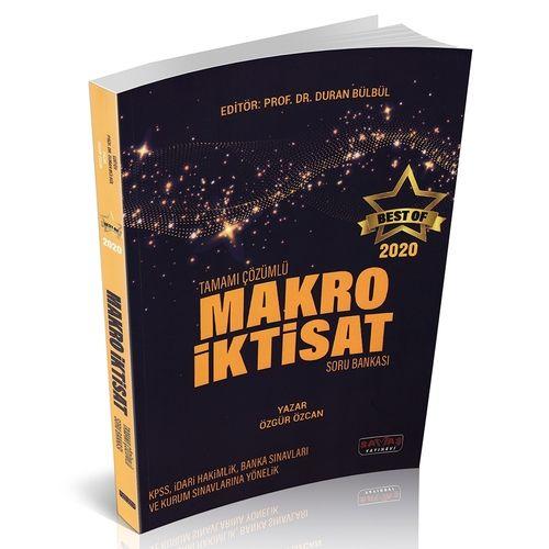 BEST OF Makro İktisat Tamamı Çözümlü Soru Bankası Savaş Yayınları 2020
