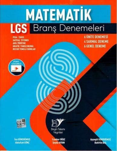 Beyin Takımı 8. Sınıf LGS Matematik Branş Denemeleri