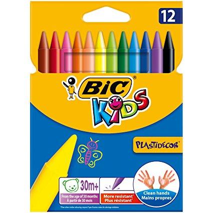 Bic Pastel Boya Plastidecor Karton Kutu 12 Lİ 920299