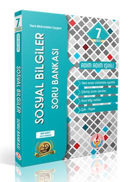 Bilal Işıklı 7. Sınıf Sosyal Bilgiler Soru Bankası Adım Adım Işıklı Bilal Işıklı Yayınları