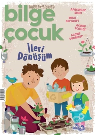 Bilge Çocuk Dergisi Sayı: 50 Ekim 2020