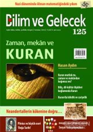 Bilim ve Gelecek Dergisi Sayı: 125
