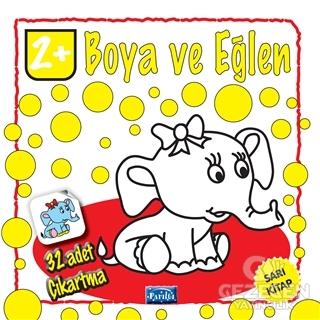 Boya ve Eğlen Sarı Kitap