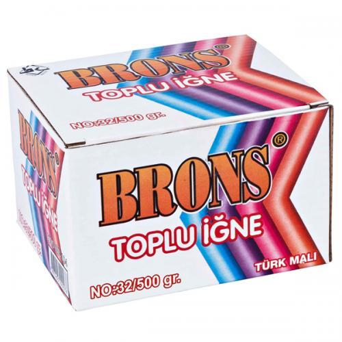 Brons Toplu İğne 28 MM 250 GR BR103